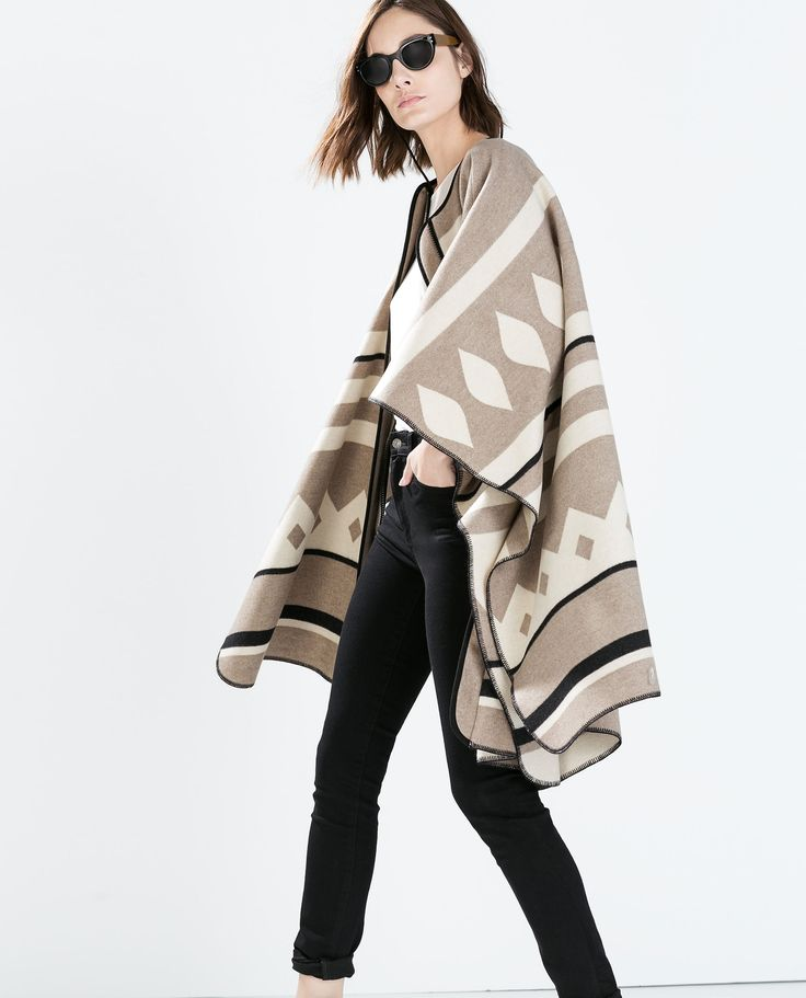 best 25 poncho coat ideas on pinterest poncho clothing long cardigan coat and winter cape. Black Bedroom Furniture Sets. Home Design Ideas