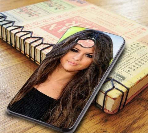 Selena Gomez Full Face HTC One M7 Case