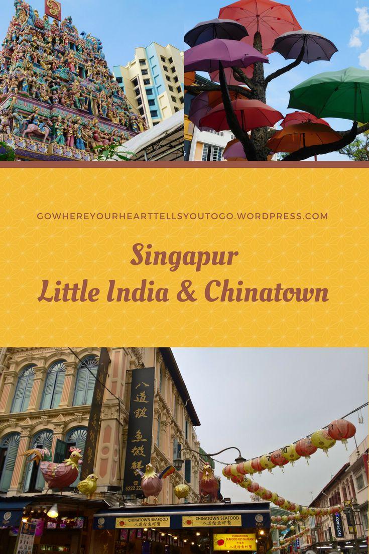 Little India und Chinatown sind ein Must-See. Auch wenn mich Little India nicht überzeugen konnte, hat es wunderschöne Ecken. Das Leben in Chinatown ist quicklebendig und so typisch Chinatown. #chinatown #littleindia #singapur