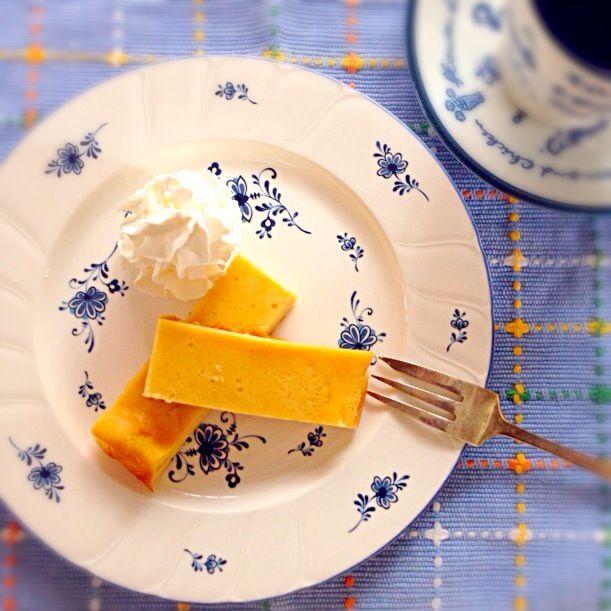 コストコで大量買いしたkiriチーズで。 - 17件のもぐもぐ - チーズケーキ by みんみん