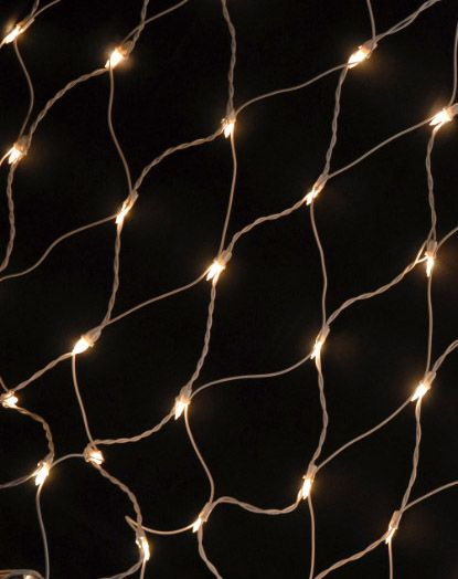 Net lights 4 ft x 6 ft with 150 Frosted lights White cord  $16 set / 3 for $15 set