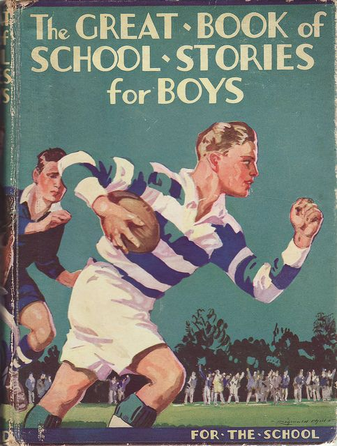 """""""The Great Book of School Stories for Boys"""" by Frederic Humbert #Vintage Books covers #books  www.newpublishehouse.com"""