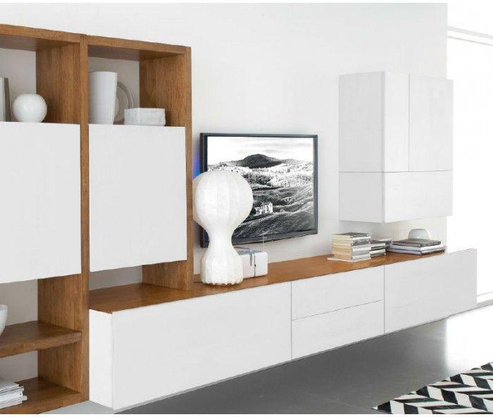 fgf mobili wohnwand c96b - Stylische Wohnwand