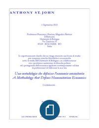 Una metodologia che definisce l'economia umanitaria