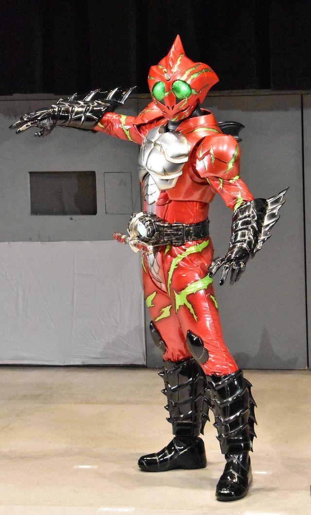 Kamen rider Alpha (?) from Kamen Rider Amazons (2016 online Kamen Rider show)