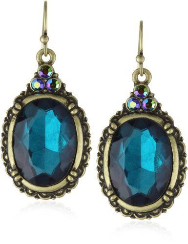 1928 Jewelry Victorian Peacock Turquoise Colored Gem Earrings 1928 Jewelry, http://www.amazon.com/dp/B003VE0RXC/ref=cm_sw_r_pi_dp_.epqqb0SV1B2F