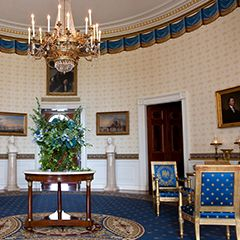 Now anyone, anywhere, can experience the history and art of the White House via the online virtual tour or in person after submitting a tour request through one's Member of Congress.