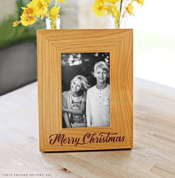 Custom Merry Christmas Frame Gifts for Coworkers Christmas Picture
