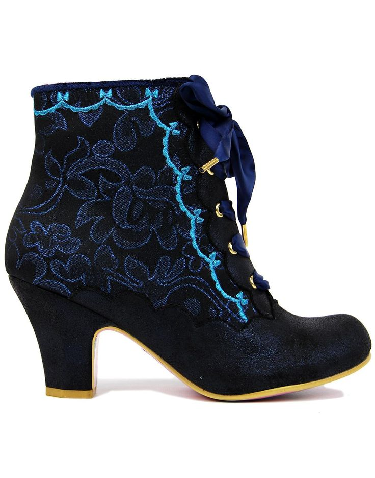 Chinese Whispers IRREGULAR CHOICE Ankle Boots Blue