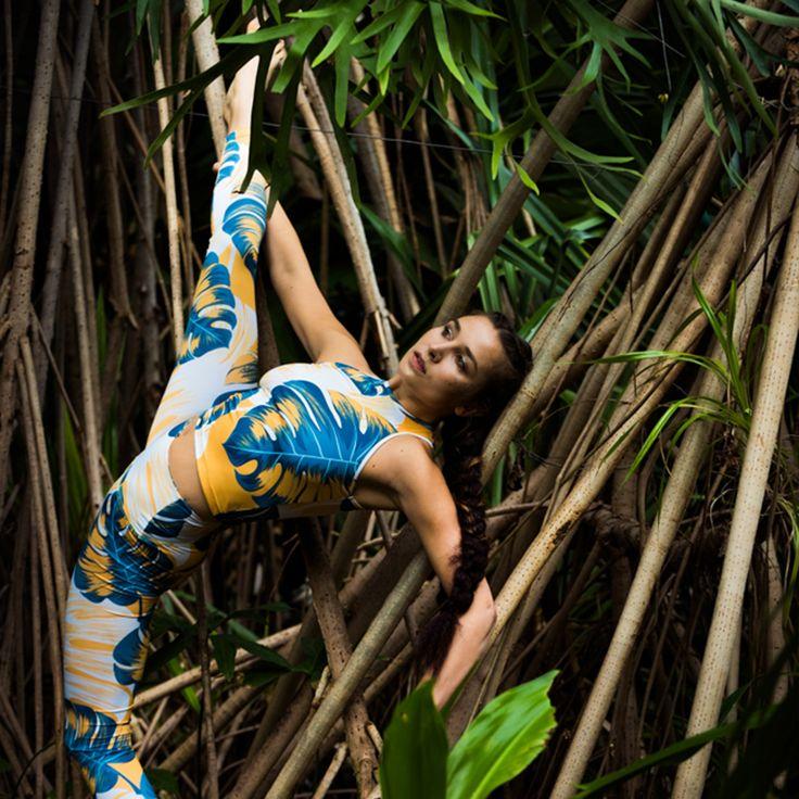 Freeme Yoga  Jungle Boogie LEGGINGS  Yogapose