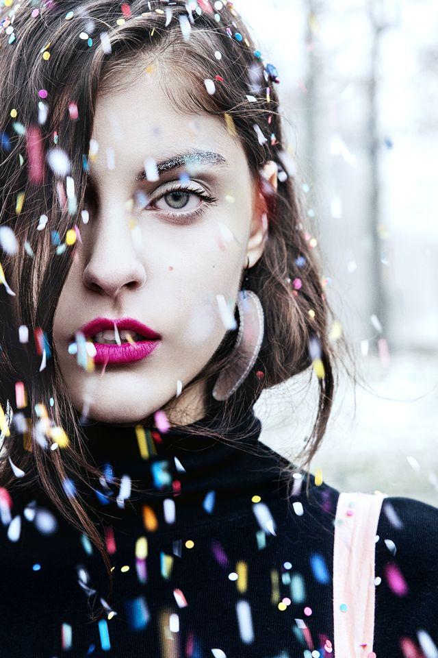 Model: Sophie - Visage Model Managment Make-up: Eszter Galambos Hair: Viktoria S. Toth Styling: Adri Kovacs - Pleasure is Pretty Speciel Thanks: Lollipop Factory