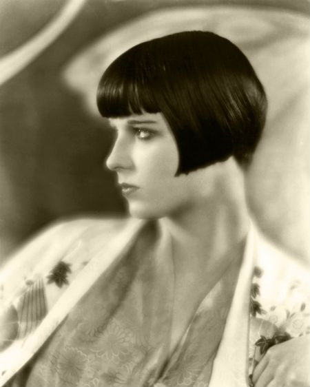 a decade after irene castle chopped off her locks, the bob trend still dominated women's style. the flappers of the 1920′s cut their hair into shingle bobs, best exemplified by actress louise brooks.