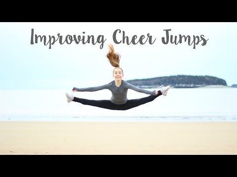 How to Improve Cheer Jumps - Toe Touch, Right Front, Left Front & Pike - YouTube