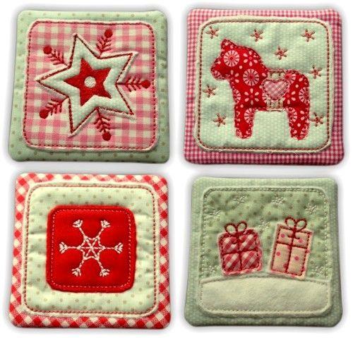 ★ Mug RugS - Christmas ★ 10x10 - ginihouse3