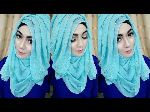 3 Princess Style Hijab Tutorial - YouTube