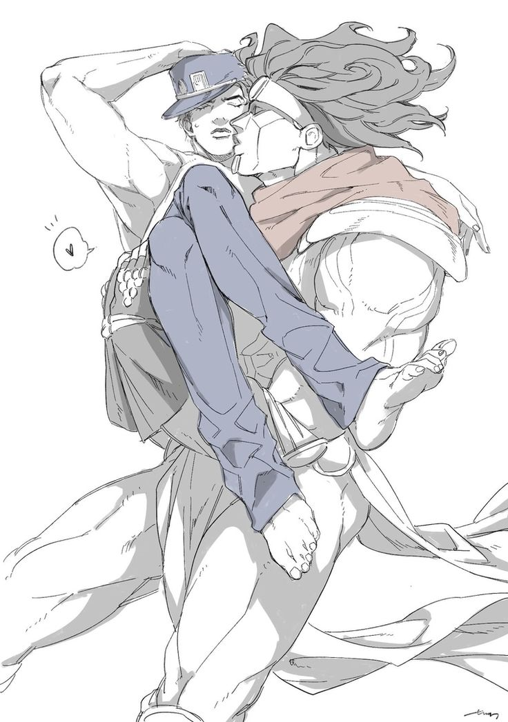 Jotakak JoJo no Kimyou na Bouken Cute art, Anime