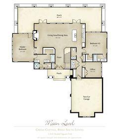 1000 ideas about creole cottage on pinterest shotgun for Orleans builders floor plans