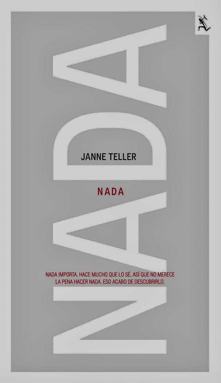 EL LIBRO DE ALE : NADA DE JANNE TELLER