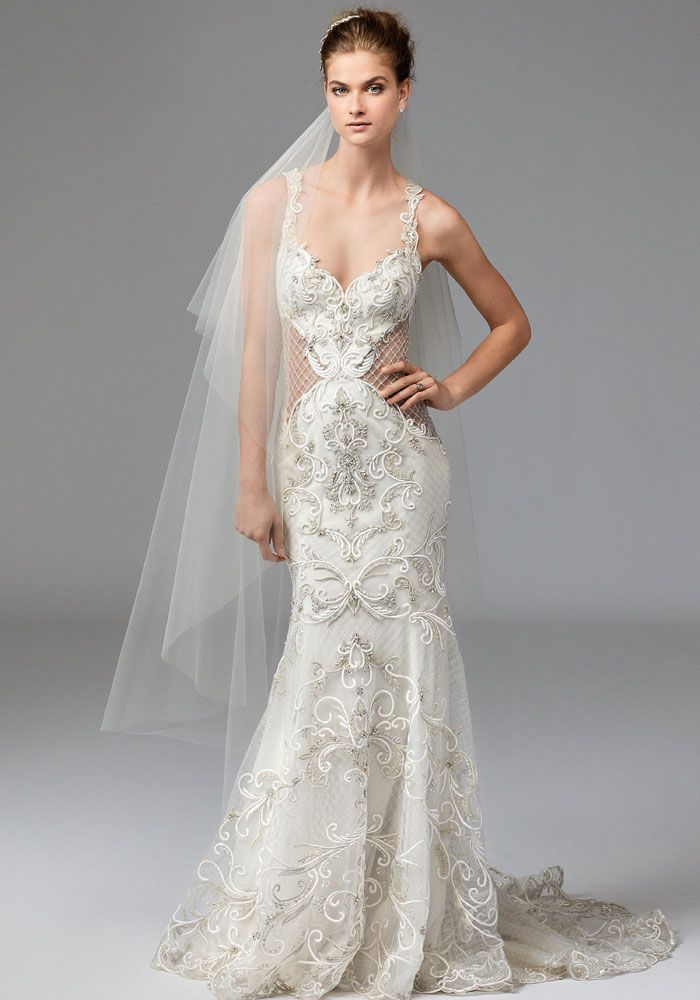 Cute  Wedding Dress Trend You Need To Know About Cut Outs