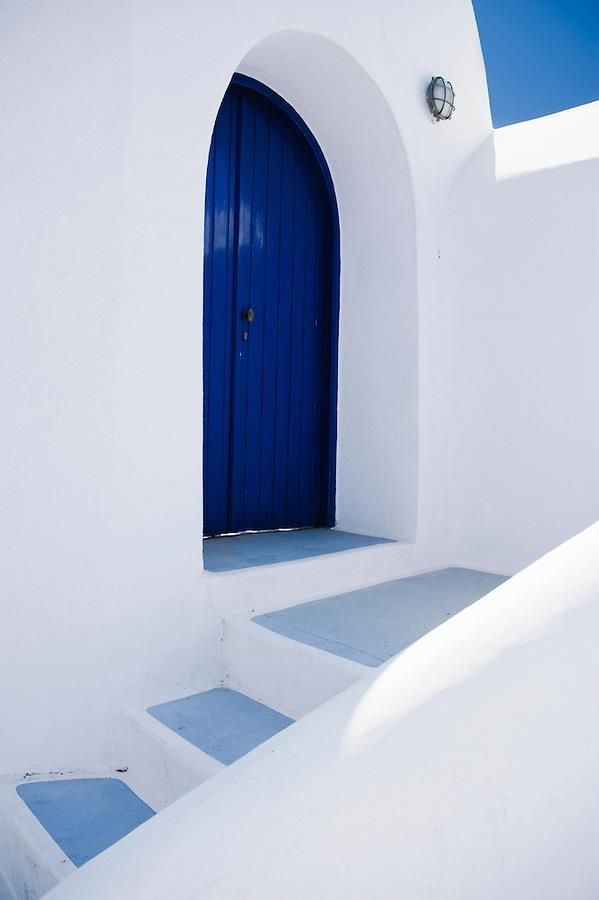 The Blue Door, Santorini Greece