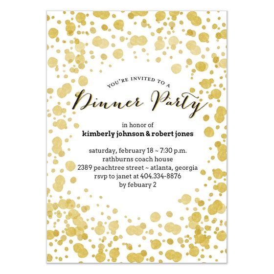 Best Dinner Invitation Email Images On   Interface