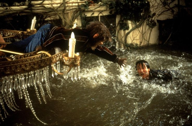 Jumanji, 1995.Beware the ground in which you stand, the floor is quicker than the sand.  Robin Williams