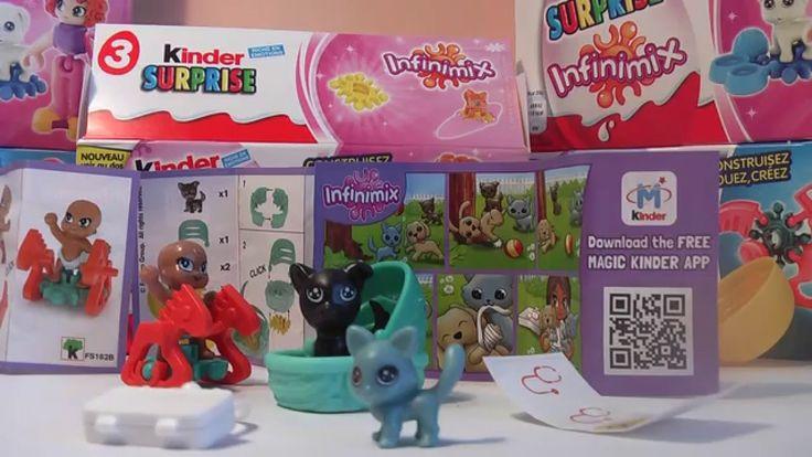 INFINIMIX for Girls Kinder Surprise Eggs FS179, FS181, FS182B (Part No.3)