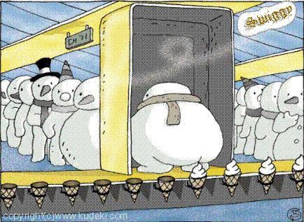 Snowman Job..... Yamy...!- Lol Jaja