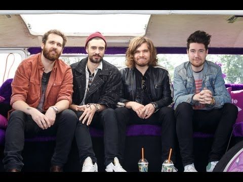 Isle of Wight Festival 2013: Bastille backstage interview . . . Ridiculously awkward questions but they're still funny :)