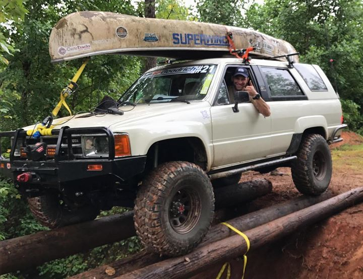 Whats More Badass The 1985 4runner Or That Bridge Reddit User Yont283 Truck At 36hoursofuwharrie Toyota4runner Toyota 4runner 1st Gen 4runner 4runner