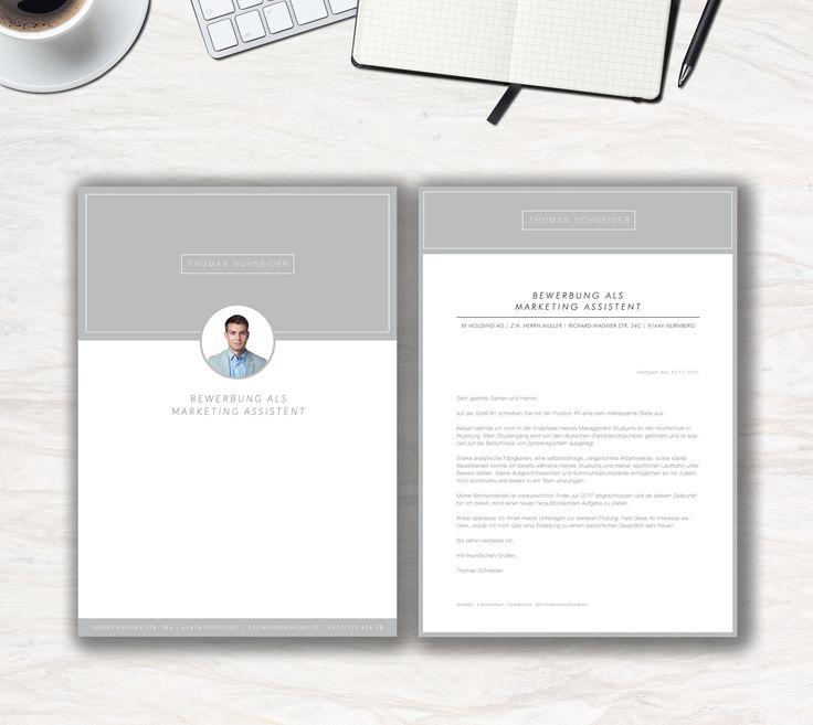 """Unsere Bewerbungsvorlage """"Modern Office"""" in der Farbe Ice Grey. Modern & Clean, das ist die Aussage der Vorlage """"Modern Office"""". Lassen Sie alle anderen Mitbewerber hinter sich. Sie erhalten von uns ein Deckblatt, Anschreiben, Lebenslauf, Motivationsschreiben und eine Abschlussseite. Die Datei bekommen Sie als fertige Pages- oder Word-Datei inklusive Platzhaltertext mit Hinweisen."""