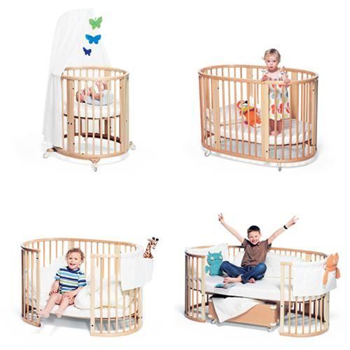 La cuna convertible de Stokke - Decoración Bebés y Habitaciones de Bebé