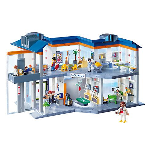 368 best images about playmobil on pinterest toys toys for Hospital de playmobil