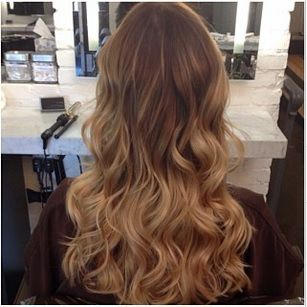 Dark Golden Blonde - natural hair color ideas