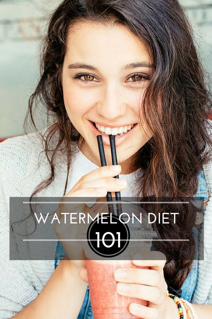 watermelon diet weight loss