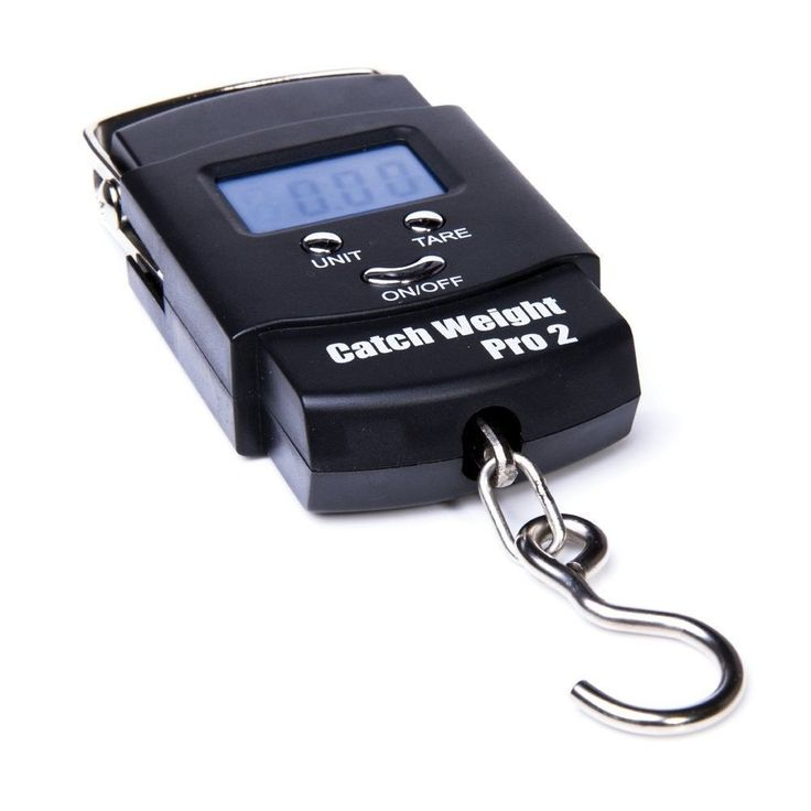 Catch Weight Pro 2 Digital Hand Hook Weighing Balance Fishing Scales lbs Oz Kg  #Accurate