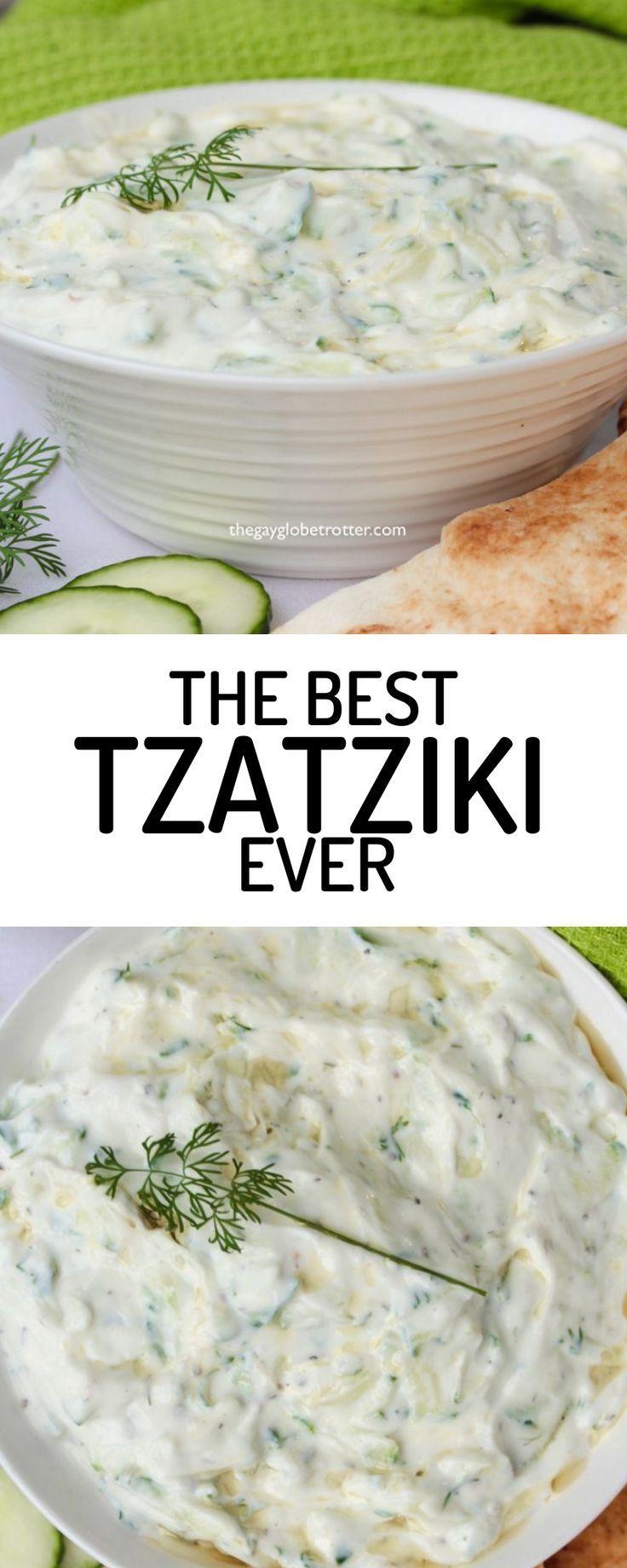 Dies ist das beste Tzatziki-Soßenrezept aller Zeiten. Dieses einfache griechische Tzatziki ist eines der …   – salutaire
