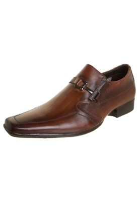 Sapato Ferracini Madeira Marrom