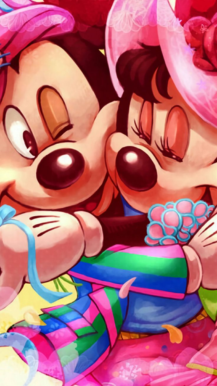 ❤Mickey and Minnie Mouse