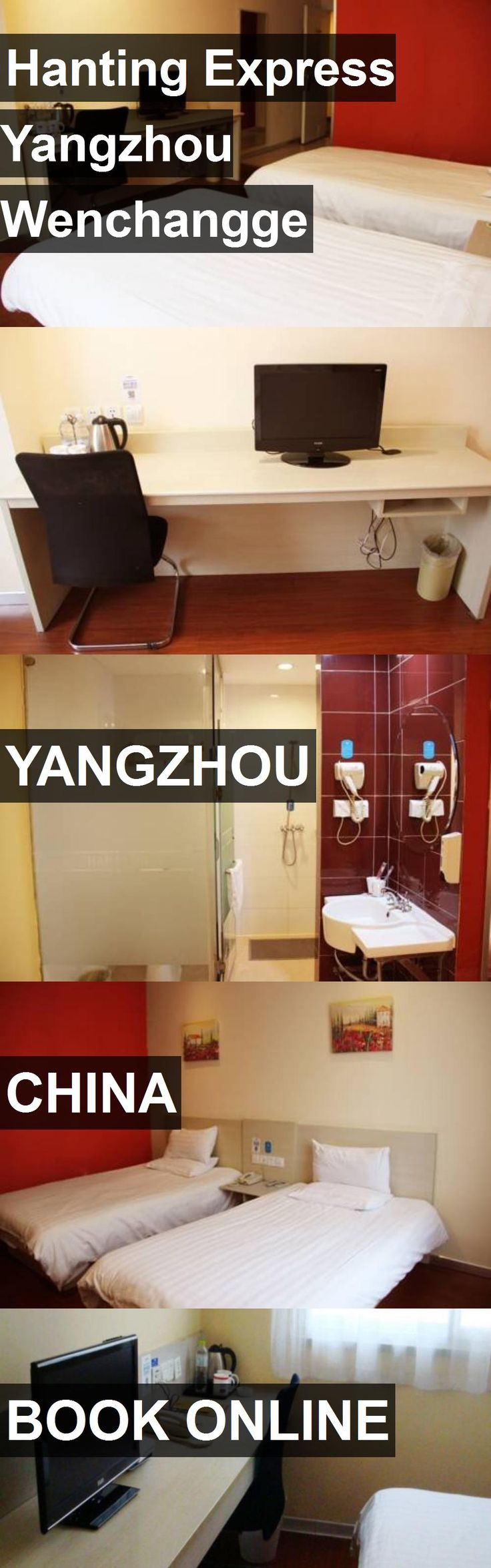 Hotel Hanting Express Yangzhou Wenchangge in Yangzhou, China. For more information, photos, reviews and best prices please follow the link. #China #Yangzhou #travel #vacation #hotel
