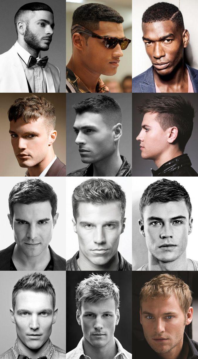 Men's Short Summer Holiday Hairstyles