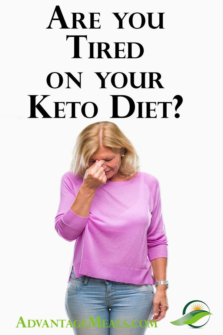 keto diet and feeling tired