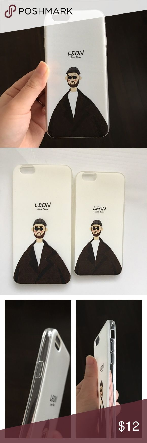 "💗iPhone 6/6S and 6/6S Plus Case💗 For movie fans!!  Léon in ""Léon: The Professional"". Luxurious feel. Soft and flexible. Super thin and fits seamlessly! Ships within 24 hours. Accessories Phone Cases"