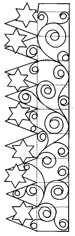 """Cute crown pattern printable!! ...Follow for Free """"too-neat-not-to-keep"""" teaching tools & other fun stuff :)"""