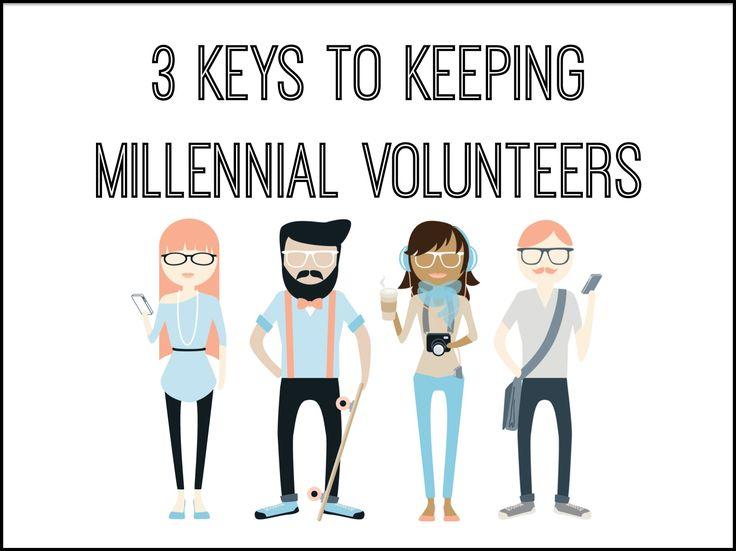 3 Keys to Keeping Millennial Volunteers ~ RELEVANT CHILDREN'S MINISTRY