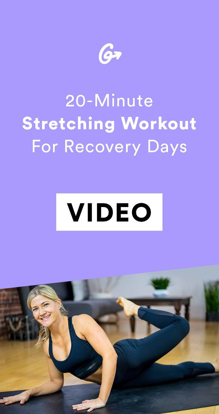 Rest days, FTW.   #greatist https://greatist.com/fitness/stretching-exercises-a-quick-recovery-workout