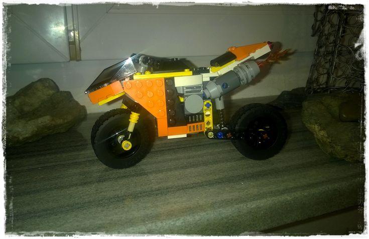 motorcycle Lego