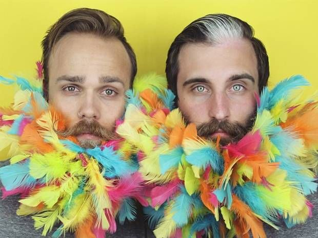The Gay Beards: Whiskers as you've never seen them before - Features - Fashion - The Independent