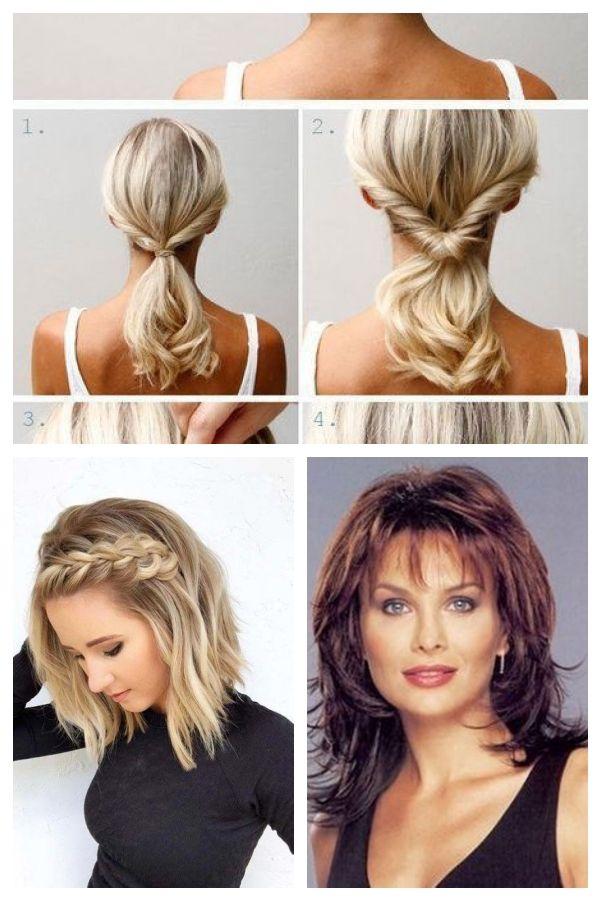 Einfache Frisuren Mittellanges Haar Neu Haare Frisuren