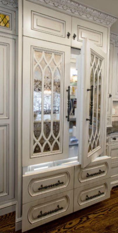Modern Appliances -- Elegant Refrigerator Doors